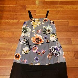 Simple Vera Vera Wang Strap Dress